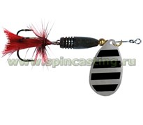 Блесна Spincasting Aglia Red Mouche Spinner #1, 3Г, Цв. S2