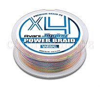 Леска Плетёная Varivas Pe Avani Jigging Power Braid X8 200М, #1.2, Цв. Multicolor