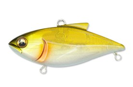 Воблер Megabass Vibration-X Power Bomb Цв. Pearl Shad Rattle
