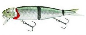 Воблер Savage Gear 4Play Herring Liplure 19См, 52Г, Цв. #02 Green Silver