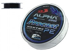 Шнур Alpha Tackle Procast Pe Supersoft 150М, 0.18Мм