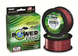 Шнур Power Pro 135М, 0.19Мм, Цв. Fantom Red