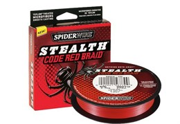 Шнур Spiderwire Stealth 110М, 0.17Мм, Цв. Code Red