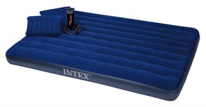 Матрас Intex Downy Airbed Set, Queen