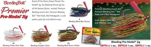 Бактейл Strike King Bleeding Bait Premier Pro-Model Jig 10.5Г, Цв. 23