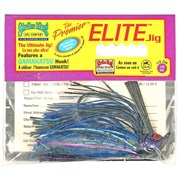 Бактейл Strike King Premier Elite Jig 14Г, Цв. Black/Blue/Purple Flash