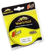 Леска Плетёная Wright & Mcgill 8Pe Premium Braided Line 150М, 0.14Мм, Цв. Green