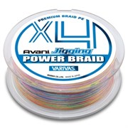 Леска Плетёная Varivas Pe Avani Jigging Power Braid X4 300М, #1.0, Цв. Multicolor