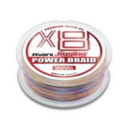 Леска Плетёная Varivas Pe Avani Jigging Power Braid X8 200М, #0.8, Цв. Multicolor