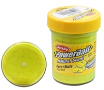 ФОРЕЛЕВАЯ ПАСТА BERKLEY POWERBAIT TROUTBAIT CORN, цв. Glitter (кукуруза)