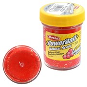 Форелевая Паста Berkley Powerbait Troutbait Salmon Egg, Цв. Red Glitter (Икра)