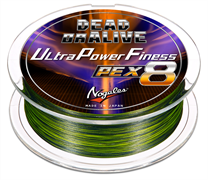 ЛЕСКА ПЛЕТЁНАЯ VARIVAS NOGALES DEAD OR ALIVE ULTRA POWER FINESSE PE X8 150м, #1.0, цв. Dark Green